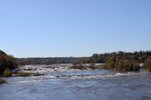 The historic James River