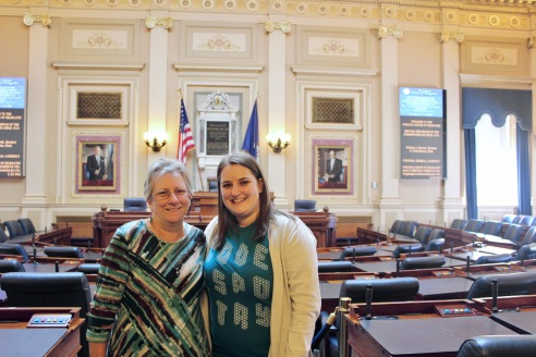 We got the VIP tour because there was basically no one at the Virginia State capitol on a Tuesday around lunch time... who knew?
