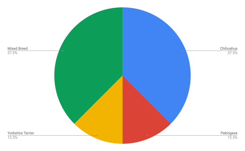 Splotchy DNA Breakdown